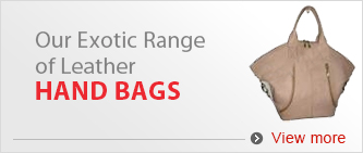 Our Exotic Range of Lather Handbags