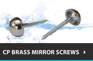 CP Brass Mirror Screws