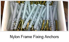 Nylon Frame Fixing Anchors