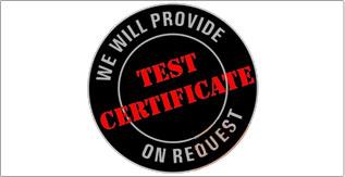 Test certificate