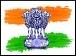 India Flag Amblem THMB