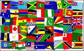 Commonwealth Games Countries flags