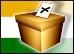 Ballot box India flag THMB
