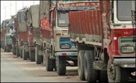 Truck strike