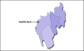 Tripura map