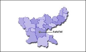 Jharkhand map