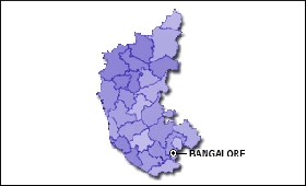 Karnataka map