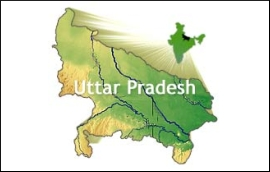 UP Map India Uttar Pradesh