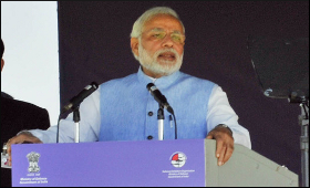 Modi at Aero India trade expo 2015