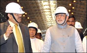 Modi visiting Rourkela Steel Plant