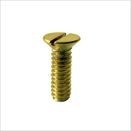 Brass Machined Screws