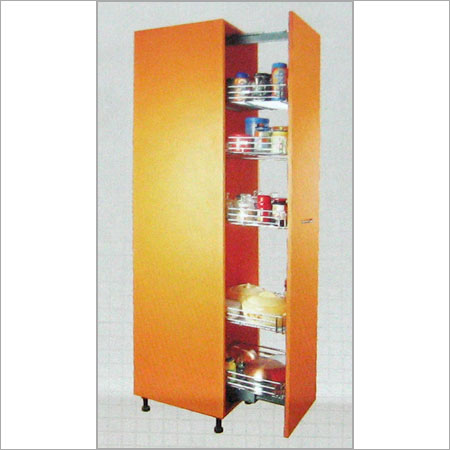 Tall unit in surat gujarat india crystal interior for Kitchen tall unit design