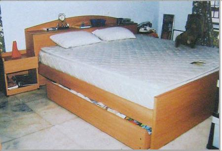 Designer Wooden Bed in Coimbatore, Tamil Nadu, India - CARVE ARTS