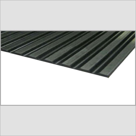 Wide Rib Rubber Flooring