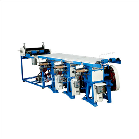 Cone Winder With Gluing Machine