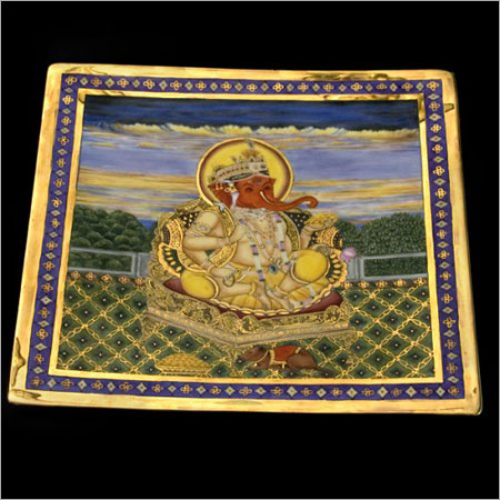 Ganeshji Plate