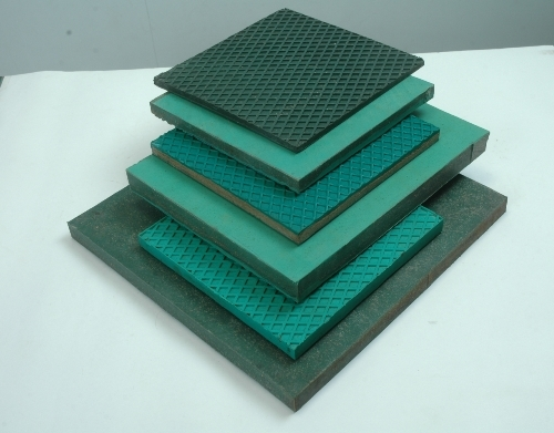 machine isolation pads