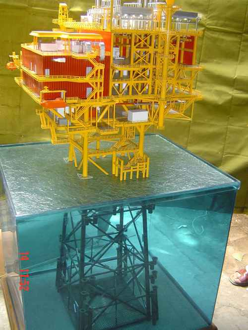 Bcp-2 Offshore Platform Model