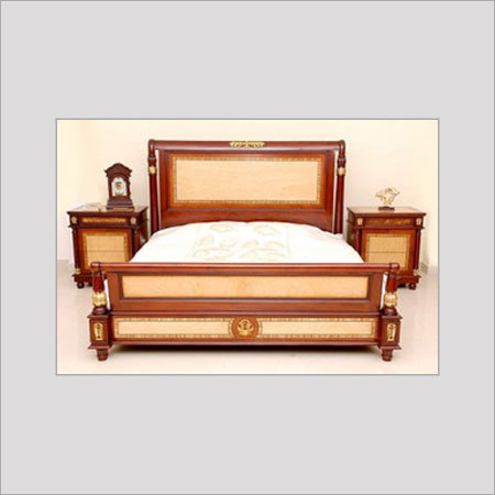 DESIGNER WOODEN BED in Chennai, Tamil Nadu, India - INDROYAL