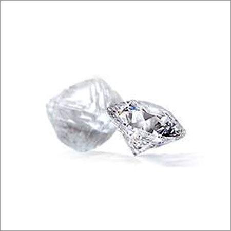 Unpolished And Polished Diamond Polished Diamonds