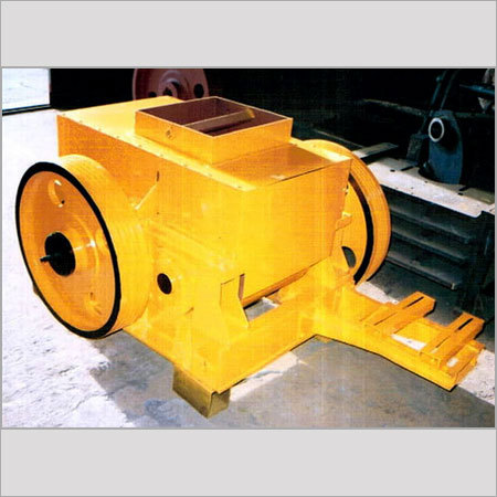 3D simulation of Double Roller Crusher -