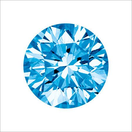 Aqua Blue Color Diamond