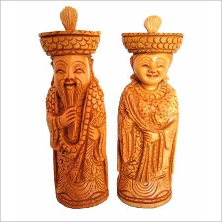 Wooden Chinies Figures
