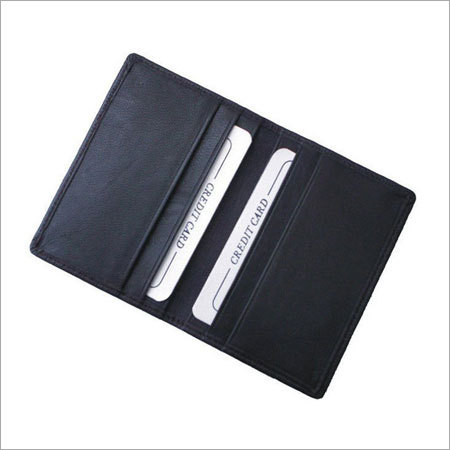 Credit card holder leather india