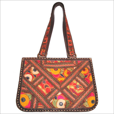 Embroidered Leather Bag Leather Embroidered Bags