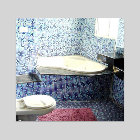 Decorative bathroom tiles in bhogal new delhi delhi india accura glass tiles enterprises Bathroom design companies in india