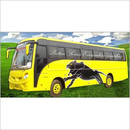 Volvo Bus Body in Nagaon, Assam, India - PRAKASH BODY CONSTRUCTIONS PVT. LTD.