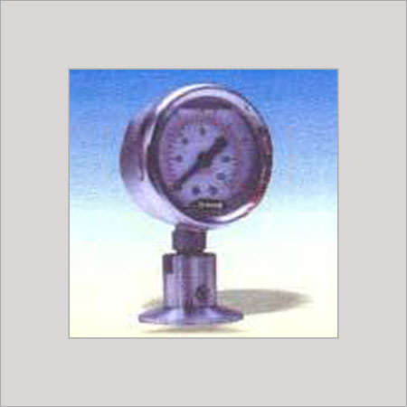 SEALED DIAPHRAGM TYPE PRESSURE GAUGE