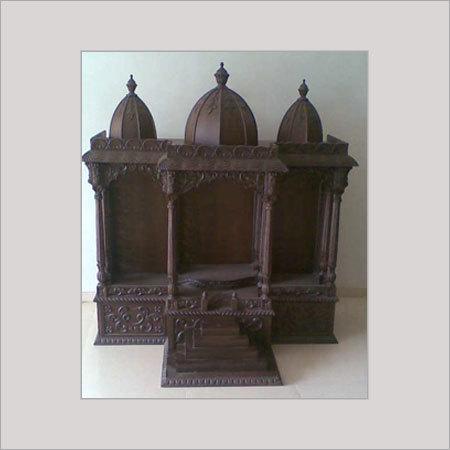 Pin Mandir Wooden Pooja Temple Tirupati Balaji Designs For Home on ...