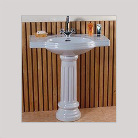Pedestal wash basins in morbi gujarat india sonet ceramic for Latest wash basin designs india
