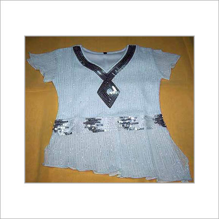 Embroidered Ladies Top