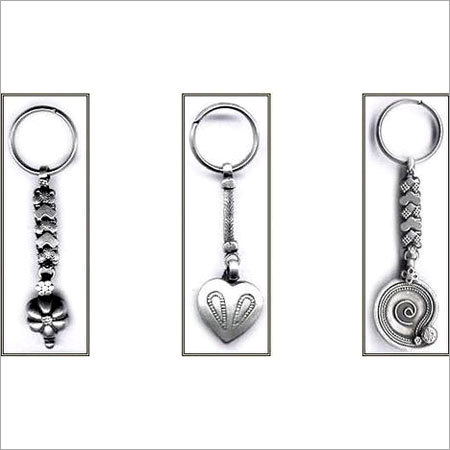 Silver Key Chain
