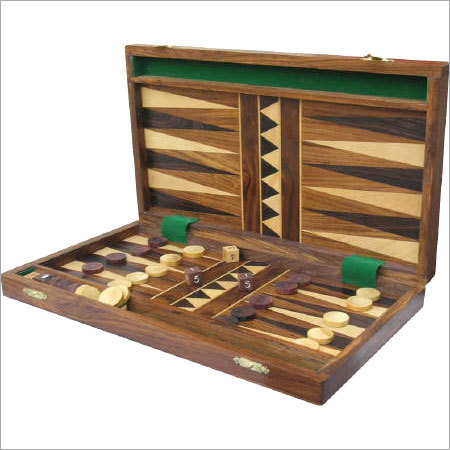 Handmade Wooden Inlaid Backgammon Sets