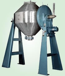 DOUBLE CONE ROTARY VACUUM DRYER