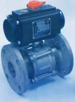 Two Way Ball Valves - Flange With Actuator