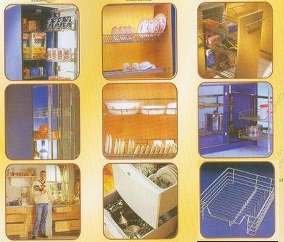 Modular kitchen accessories supplier exporter haresh aluminium
