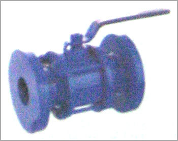 CAST IRON FLANGED BALL VALVE