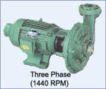 Three Phase Centrifugal Monobloc Pump
