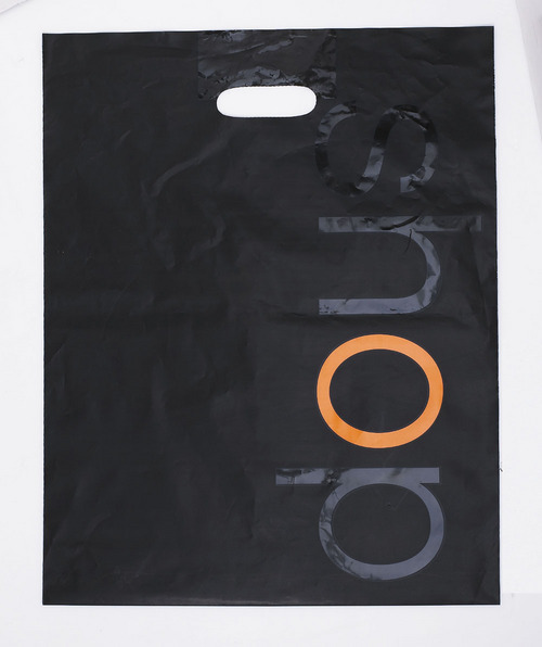 Die-Cut Carrier Plastic Bag
