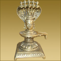 Shivling Cobra With Shiva Head