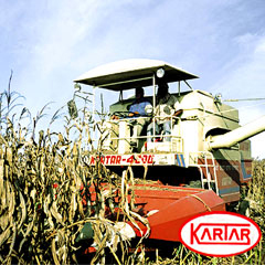 Maize Combine Harvester