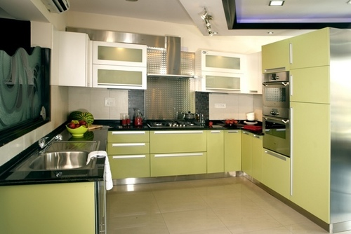 Stainless Steel Modular Kitchen in Gurgaon, Haryana, India