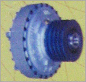 HELICAL GEARED MOTOR FLUID COUPLING
