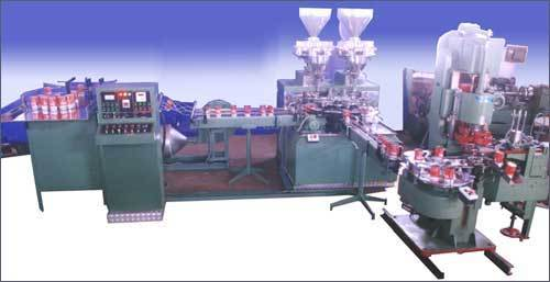 Twin Head Powder Filling Machine