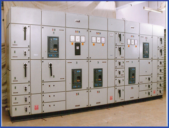 MAIN POWER CONTROL CENTER PANEL