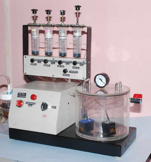 inkjet cartridge refilling machine